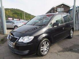 VW Touran SE TDI (black) 2008