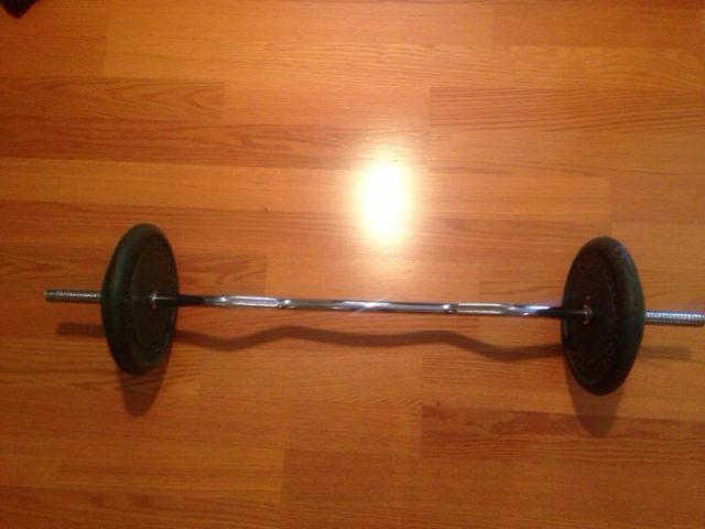 Description For Is A 80lbs Of 1inch Standard Weights