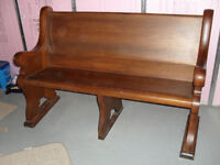 Antique Church Bench in excellent condition.