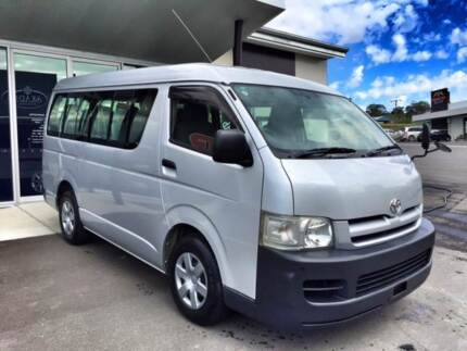 *LOOK DIRECT IMPORTED TOYOTA HIACE LWB AUTOMATIC 10 SEATER COACH* Hahndorf Mount Barker Area Preview
