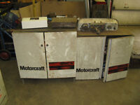 Ford dealership parts cabinet and nos parts