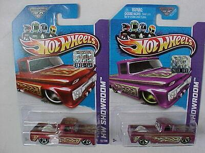 Hot Wheels 2013 Custom 62 Chevy Lot of 2 cars Factory Sealed Set