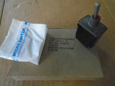 1 Ea Nos Honeywell Micro Toggle Switch W Various Applications Pn 102tl1-2