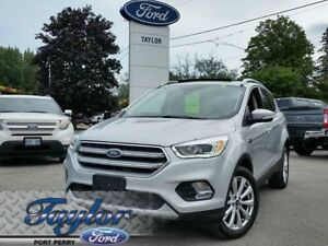 2017 Ford Escape Titanium *LEATHER* *NAV*
