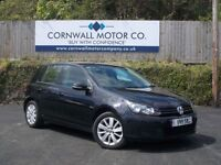 VOLKSWAGEN GOLF 1.6 MATCH TDI DSG 5d AUTO 103 BHP 1 PRIVATE OWNER (black) 2011