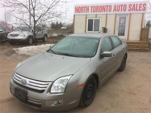 2008 FORD FUSION SEL - HEATED SEATS - LEATHER - 4 CYLINDER