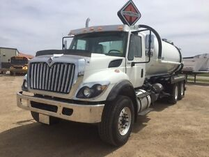 2017 International 7400 6x4, New Septic Truck
