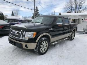 2011 Ford F-150 KING RANCH 4X4 NAV CAM TOIT CUIR GARANTIE 12999$