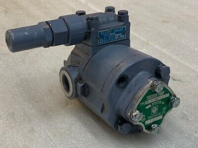 Nippon Oil Pump Top-216haemvb Trochoid Pump With Relief Valve 2vb Used Good Cond
