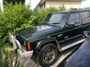 1998 Jeep Cherokee XJ Sport (4x4) 4 Speed Automatic 4x4 Wagon St James Victoria Park Area Preview