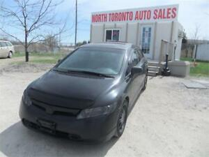 2007 Honda Civic Sdn EX // PWR. SUNROOF //ALLOYS