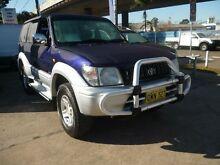 1997 Toyota Landcruiser Prado VZJ95R Grande VX (4x4) Blue 4 Speed Automatic 4x4 Wagon Holroyd Parramatta Area Preview