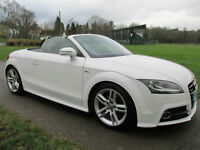 2013 (63) Audi TT Roadster 2.0TDI (170ps) Roadster quattro S Line Convertible