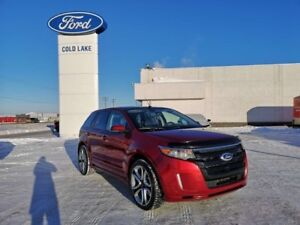 2014 Ford Edge SPORT, NAVIGATION AND PANORAMIC ROOF, POWER LIFTG