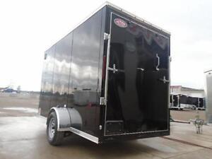12'' EXTRA HEIGHT 6 X 12 ENCLOSED CARGO TRAILER W/RAMP DOOR London Ontario image 4