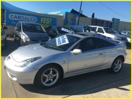 1999 Toyota Celica ZR Silver 4 Speed Sequential Auto Liftback Kogarah Rockdale Area Preview