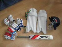 Free junior cricket equipment