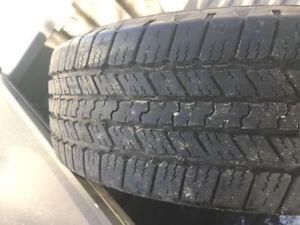 MINT- All season tires- P265 65 R18 Good Year Wrangler