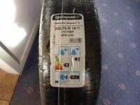 ContinentalVancoFour Season 205/75r/16c Tyres.