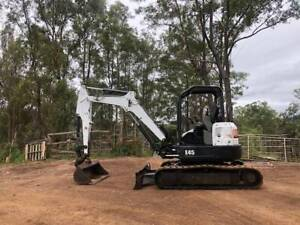 Excavator Bobcat E45 Veteran Gympie Area Preview