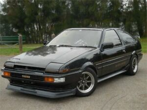 1985 Toyota Sprinter AE86 Black Limited Black Manual Coupe Lansvale Liverpool Area Preview