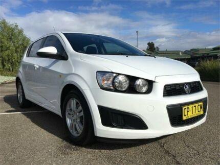 2012 Holden Barina TM MY13 CD White 6 Speed Automatic Hatchback Mount Druitt Blacktown Area Preview