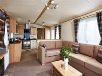 Static caravan holiday home on East Yorkshire coast holiday park Withernsea nr Hornsea & Tunstall