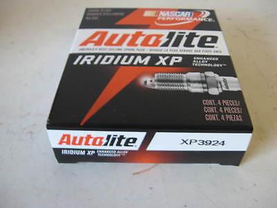 FOUR(4) Autolite XP3924 Iridium Spark Plug BOX/SET *$3 PER PLUG FACTORY REBATE!*