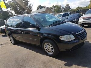 2005 Chrysler Grand Voyager RG 05 Upgrade Limited Black 4 Speed Automatic Wagon Campbelltown Campbelltown Area Preview