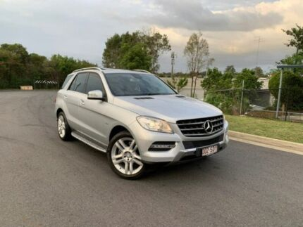 2012 Mercedes-Benz ML250 W166 BlueTEC 7G-Tronic + Silver 7 Speed Sports Automatic Wagon Darra Brisbane South West Preview