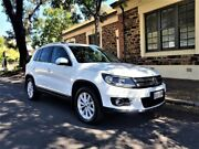 2015 Volkswagen Tiguan 5N MY16 130TDI DSG 4MOTION White 7 Speed Sports Automatic Dual Clutch Wagon Medindie Walkerville Area Preview