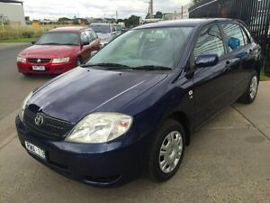 2003 Toyota Corolla ZZE122R Ascent Seca 4 Speed Automatic Hatchback Brooklyn Brimbank Area Preview