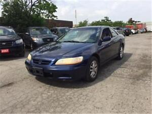 2001 Honda Accord Cpe EX V6 Leather LOADED