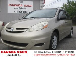 2006 Toyota Sienna, 2 SETS OF TIRES, 12 M WRTY+SAFETY ONLY $4990