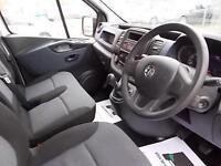 Vauxhall Vivaro 2900 1.6 CDTi 115PS H1 VAN DIESEL MANUAL WHITE (2015)