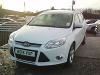 FORD FOCUS 2014 NAVIGATOR ESTATE 1.0L PETROL