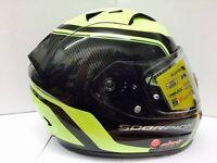Scorpion Exo-1200 Air Stream Tour Black Neon Yellow Motorcycle Helmet