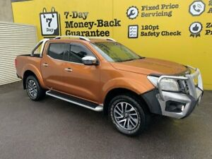 2015 Nissan Navara D23 ST-X Hornet Gold 6 Speed Manual Utility Invermay Launceston Area Preview
