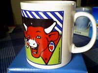 """""""THE LAUGHING COW"""" CHEESE SPREAD COLLECTOR MUG - UNUSED"""