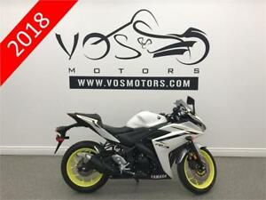2018 Yamaha YZF-R3 ABS -V2961- No Payments For 1 Year**