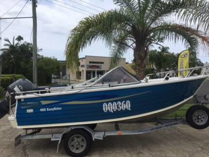 Stacer 480 Easy Rider Bow Rider Yamaha F60