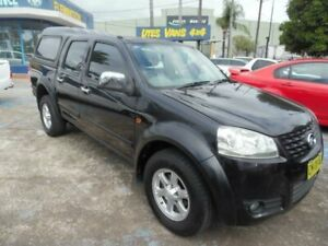 2011 Great Wall V200 K2 (4x4) Black 6 Speed Manual Dual Cab Utility Homebush West Strathfield Area Preview