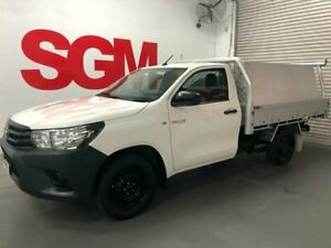 Toyota Hilux 2016 2.7 AUTOMATIC ute with Tiger Tray, Toolbox & Ladder Rack Seven Hills Blacktown Area Preview