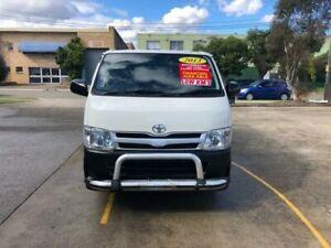 2013 Toyota HiAce TRH201R MY12 Upgrade LWB White 4 Speed Automatic Van Lidcombe Auburn Area Preview