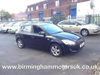 2009 (09 Reg) Kia Ceed 1.6 SR AUTOMATIC 5DR Hatchback BLACK + LOW MILES