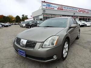 2004 Nissan Maxima SE FULLY LOADED CERTIFIED E-TESTED