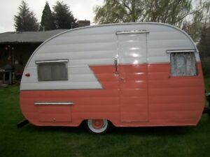 Looking to buy canned ham or teardrop trailer