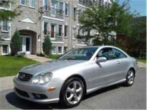 2004 MERCEDES-BENZ CLK-CLASS 5.0L/ FINANCEMENT MAISON $35 SEMAIN