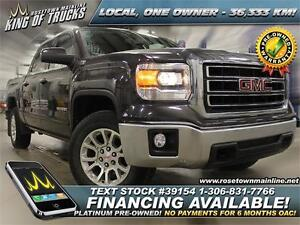 2014 GMC Sierra 1500 SLE One Owner | Low KM | PST PAID