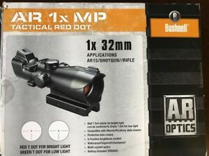 Bushnell 1x MP AR Optic Red/Green Dot Sight